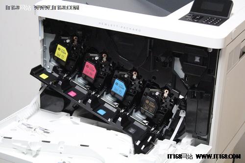 惠普m533x彩色激光打印机硒鼓舱