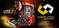 华擎X99X杀手版/3.1 获最佳创新设计奖