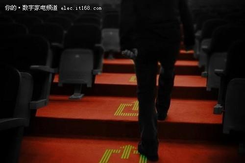 飞利浦推出LED地毯 显示各种自定义图案