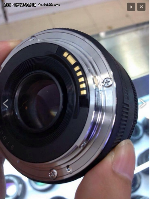 新的小痰盂 佳能新50mm f/1.8外观曝光