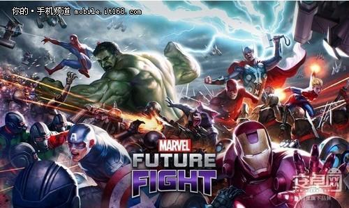复联2上映 超级英雄手游用安卓市场先玩