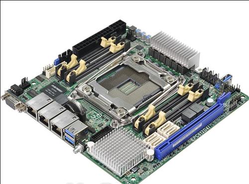 最强ITX主板来袭:完整四通道内存
