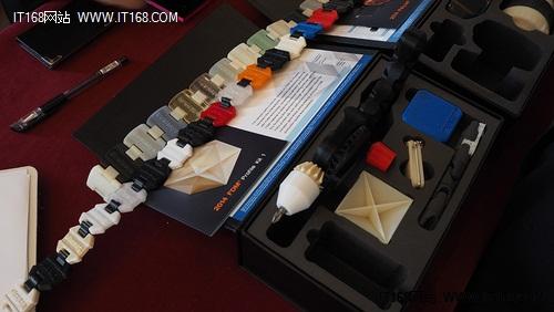 震旦3D打印亮相中国办公空间发展大会