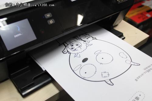 用手机玩点别的移动打印为孩子增新乐趣