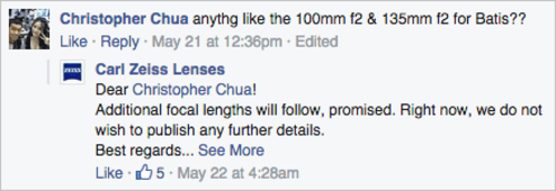 索尼专属:来自蔡司的新Batis镜头