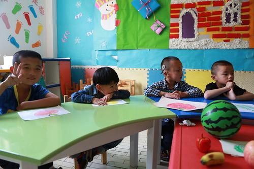 幼儿园可爱孩子们的唯美图片