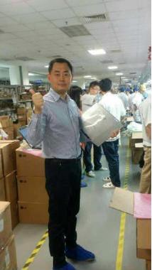 雷神CEO亲赴广达 见证第一台911M的诞生
