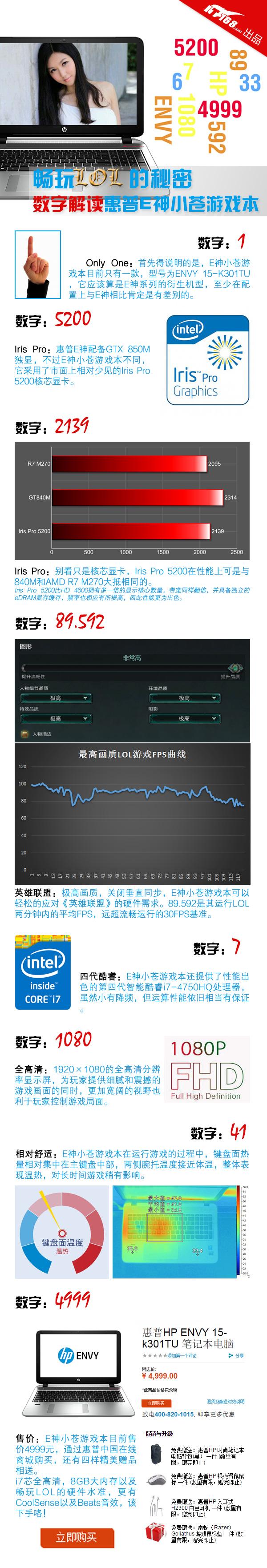 i7芯+锐炬显卡 数读惠普E神小苍游戏本