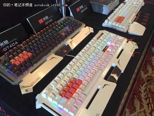 血手幽灵 世界最快LK光轴机械键盘发布