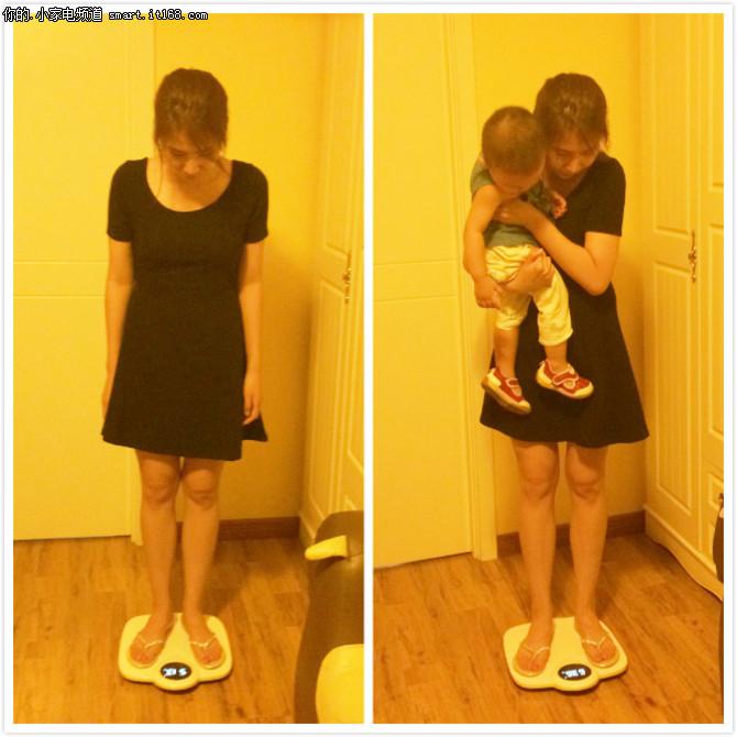 精准实用 快乐妈咪智能母婴安全秤试用
