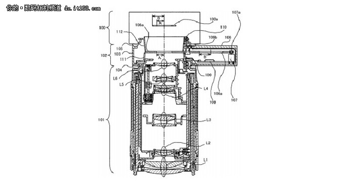 佳能专利:全幅无反EFEF-S镜头转接环