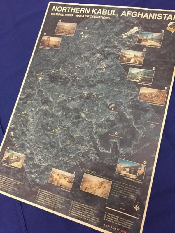 《合金装备5》地图流出:规模太大了