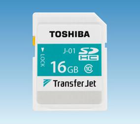 极速传输 东芝推首款TransferJet SD卡