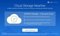 谷歌推新云服务:免费提供1亿GB空间
