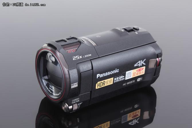 4K画质落入千万家 松下WX970摄像机评测