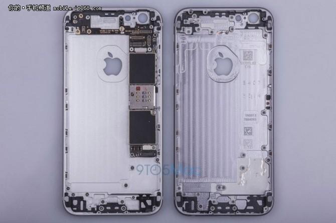 iPhone 6s逻辑板曝光 网速升一倍