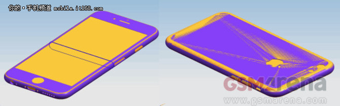 厚0.1mm iPhone 6s设计图稿曝光