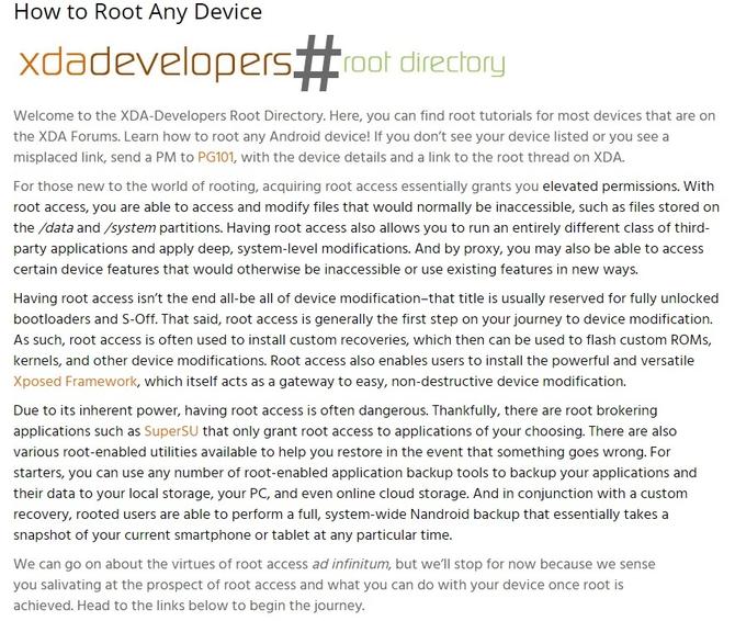 KingRoot成中国首登XDA推荐Root工具