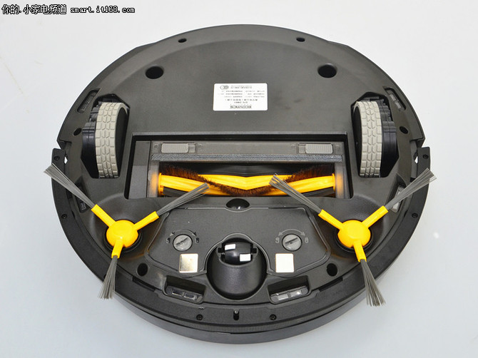 科沃斯地宝DM81扫地机评测-机体正面