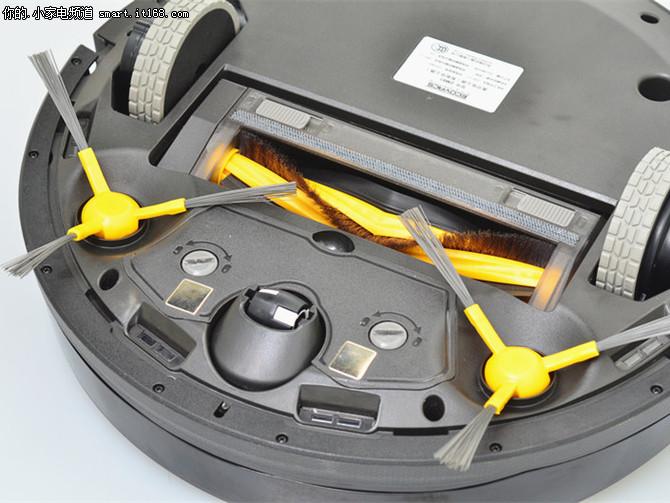 科沃斯地宝DM81扫地机评测-清洁系统