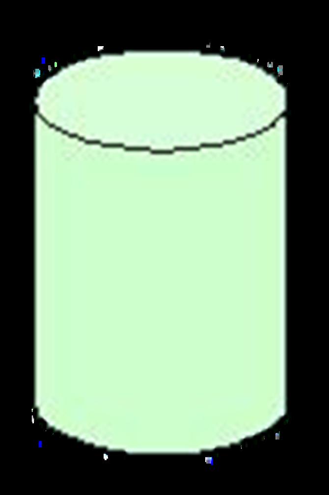 圆柱透视结构图