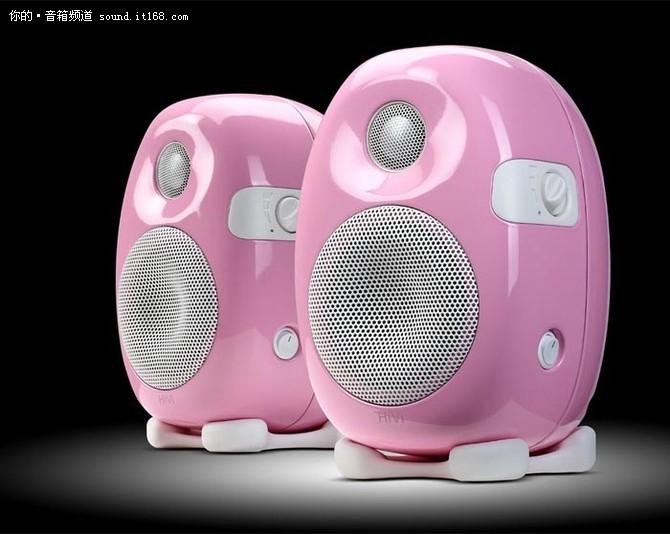 灵动素色小粉 惠威X3 粉红色艳报1960元