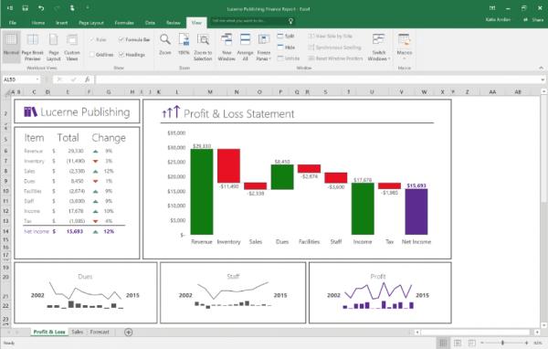 Office 2016预览版Update 2 诸多新功能