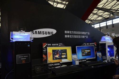 ChinaJoy曲线大战 三星显示器开创浪潮
