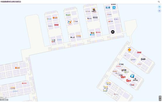 2015 CJ 高德室内地图为您逛展保驾护航