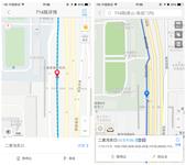 高德百度地图对比评测 坐公交也能导航?