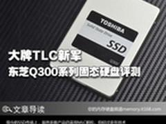 大牌TLC新军 东芝Q300系列固态硬盘评测