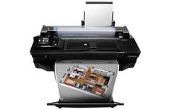 36英寸高精度写真机惠普T520报价27000