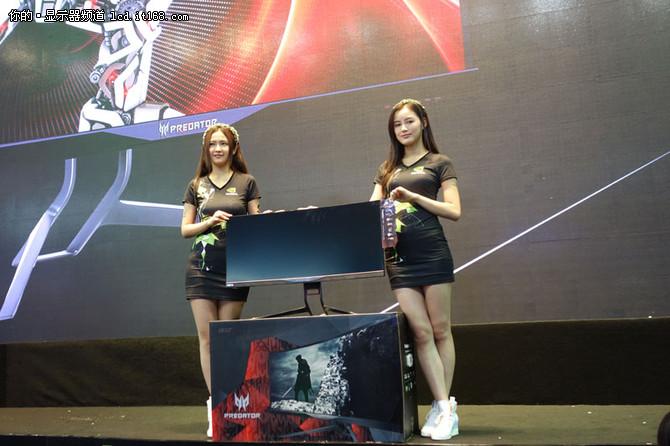 全球首款G-sync曲屏显示器 宏�X34首发