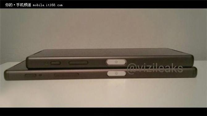 侧面指纹识别 索尼Z5Z5 Compact曝光