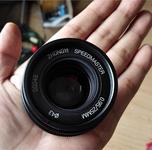 中一光学25mm F/0.95 M43饼干镜头曝光