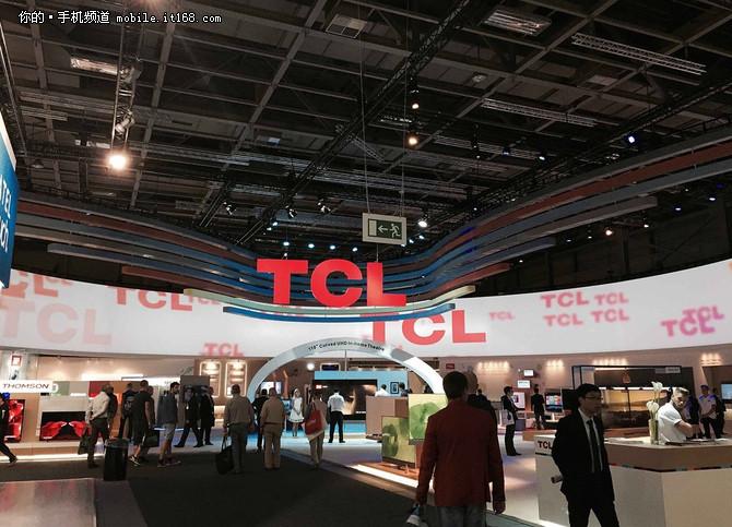 三防手机领衔 TCL多款移动新品亮相IFA