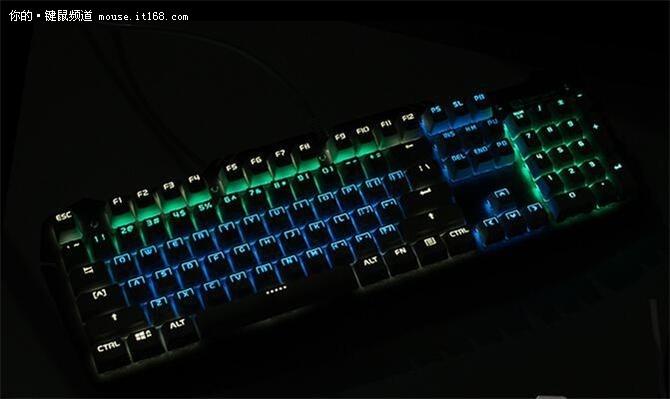 烙印浓厚虚空风暴机械版专业游戏键盘