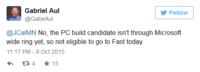 Windows 10 PC新版build还未准备就绪