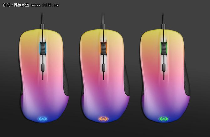 赛睿发布Rival CS:GO渐变之色版鼠标