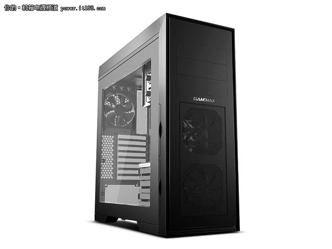 手工水冷箱霸气来袭 GAMEMAX新品钛60