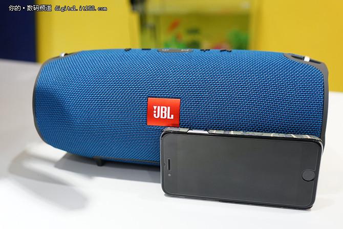 防泼溅大能量 JBL Xtreme蓝牙音箱评测