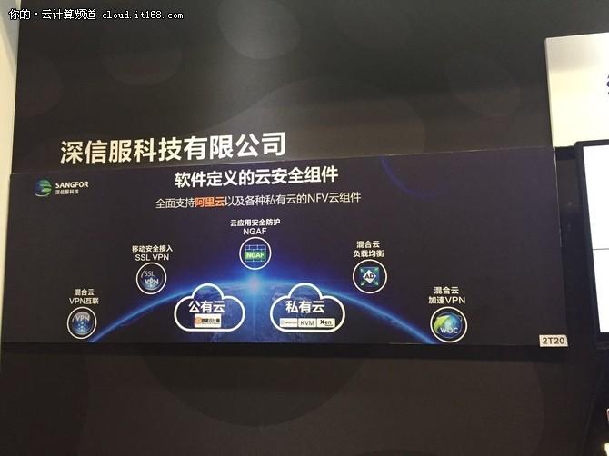深信服顺应市场需求 推云安全组件服务