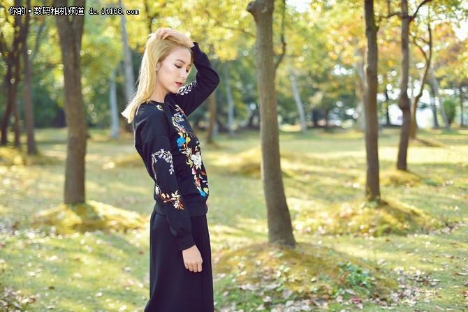 高像素尽显细腻 尼康D810秋季唯美人像