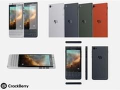 或为直板全键盘设计 黑莓新机参数曝光