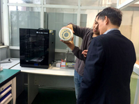 天威3D打印助上海交大学生设计医疗设备