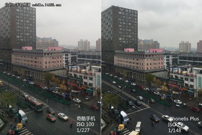 360奇酷手机旗舰版、iPhone6s拍照对比