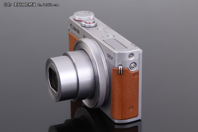 小巧便携颜值高 佳能PowerShot G9X外观