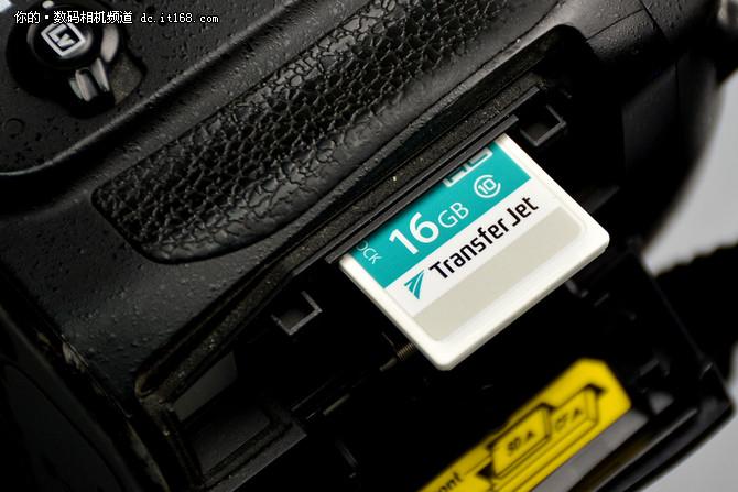东芝世界首款TransferJet SD卡试用