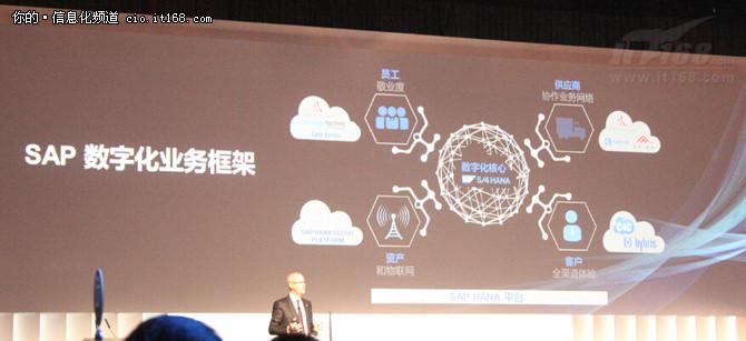 SAP大中华区纪秉盟:数字经济 创新致胜