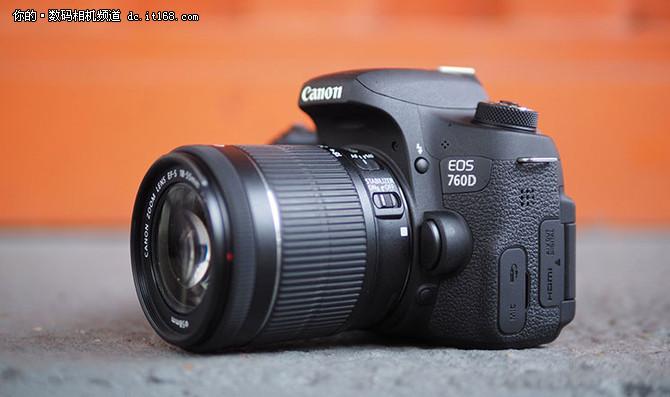 全新入门级单反 佳能760d仅售5488元-it168 数码相机